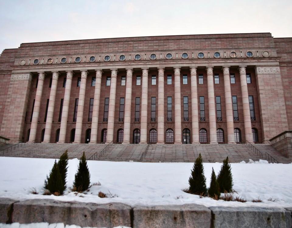 Riksdagshuset.