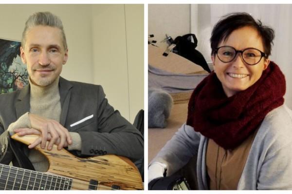 en man och en kvinna