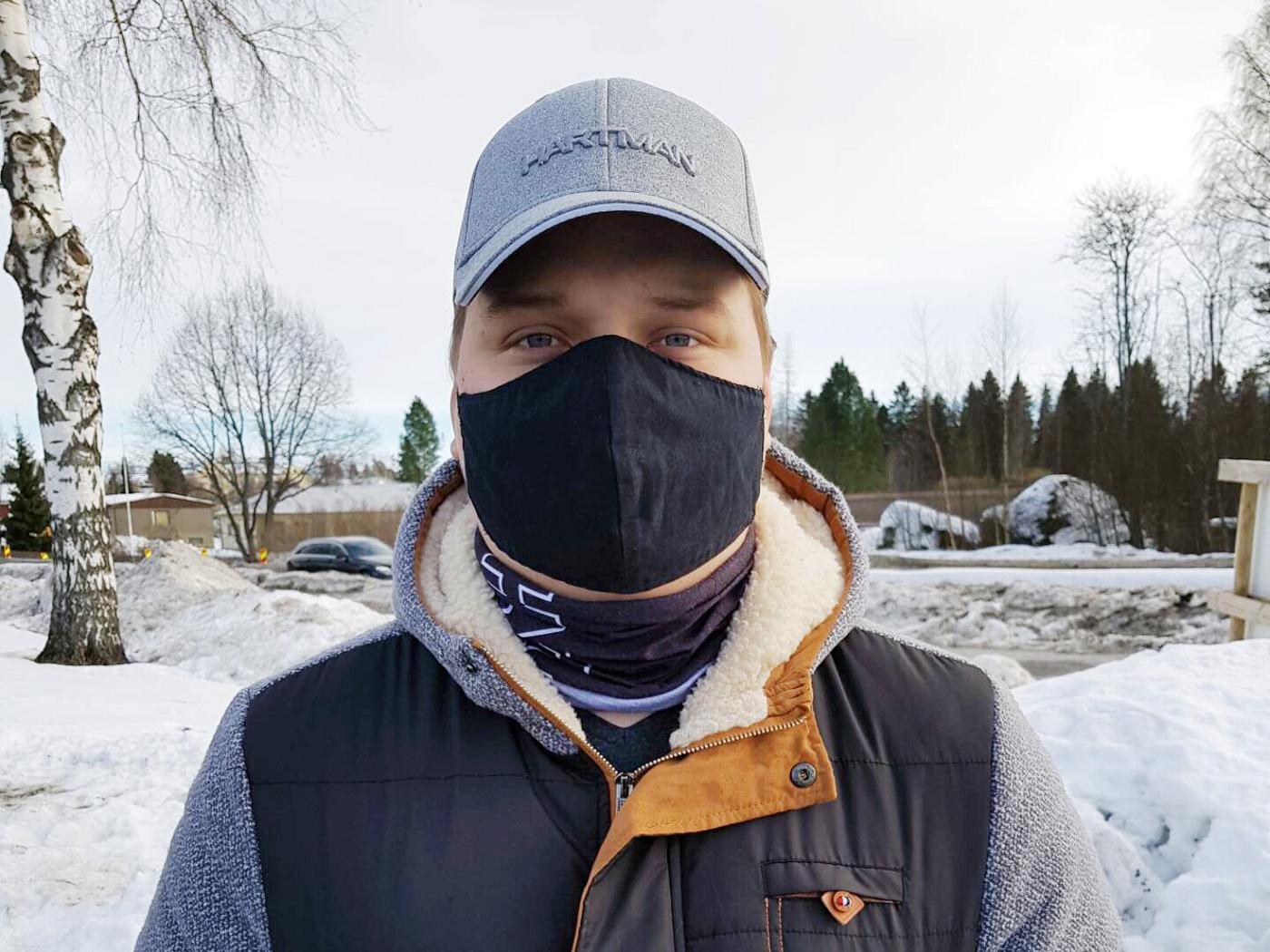 Robin Pienkuukka Studerar till ingenjör (YH) inom byggnads- och samhällsteknik, Campus Vasa