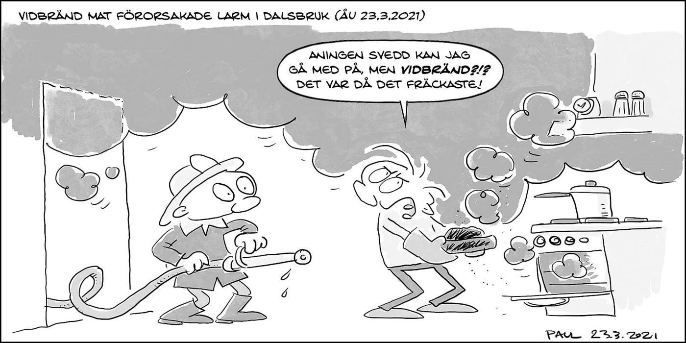 skämtteckning