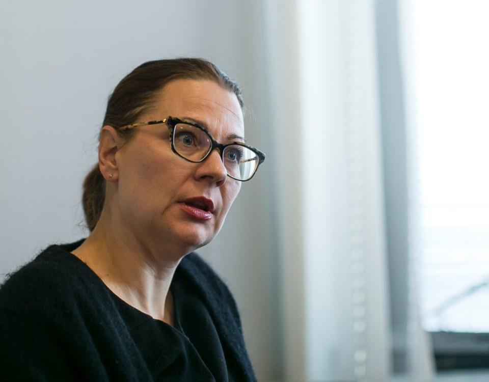 Åbo stadsdirektör Minna Arve