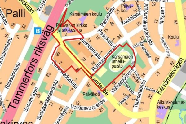 Karta över Åbokvarter