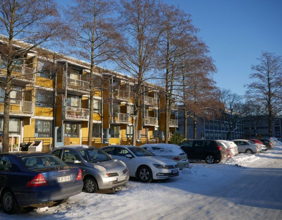 Studentbostadshus i Åbo