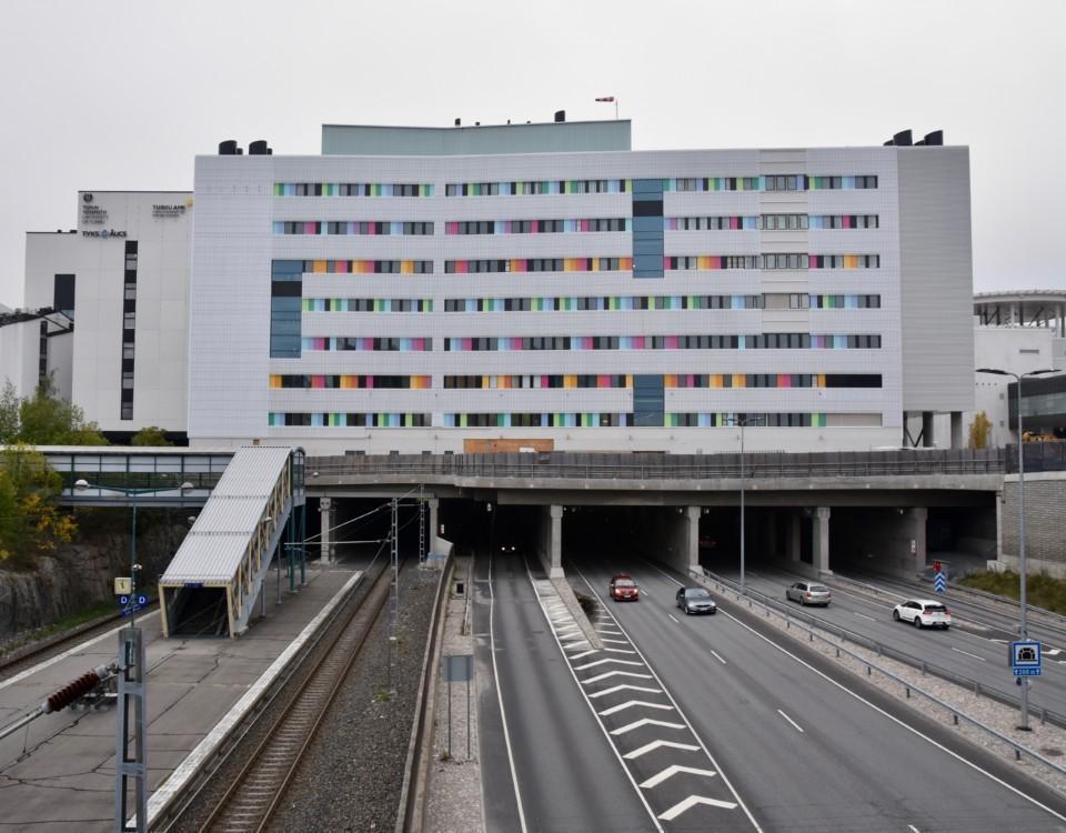 en sjukhusbyggnad