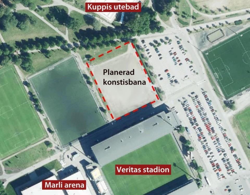 Bild över Kuppis idrottspark