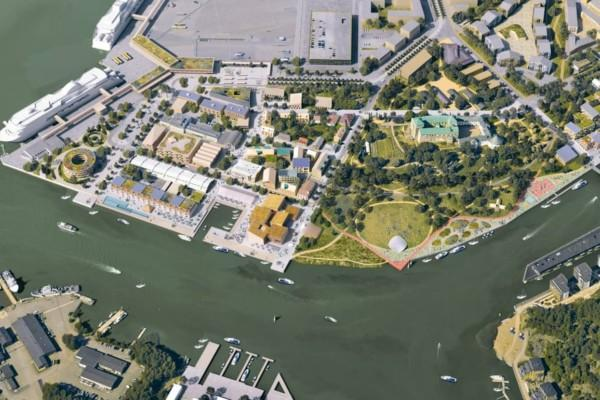 Visonsbild över Åbo slotts kvarter