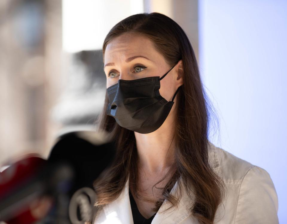 statsminister i munskydd