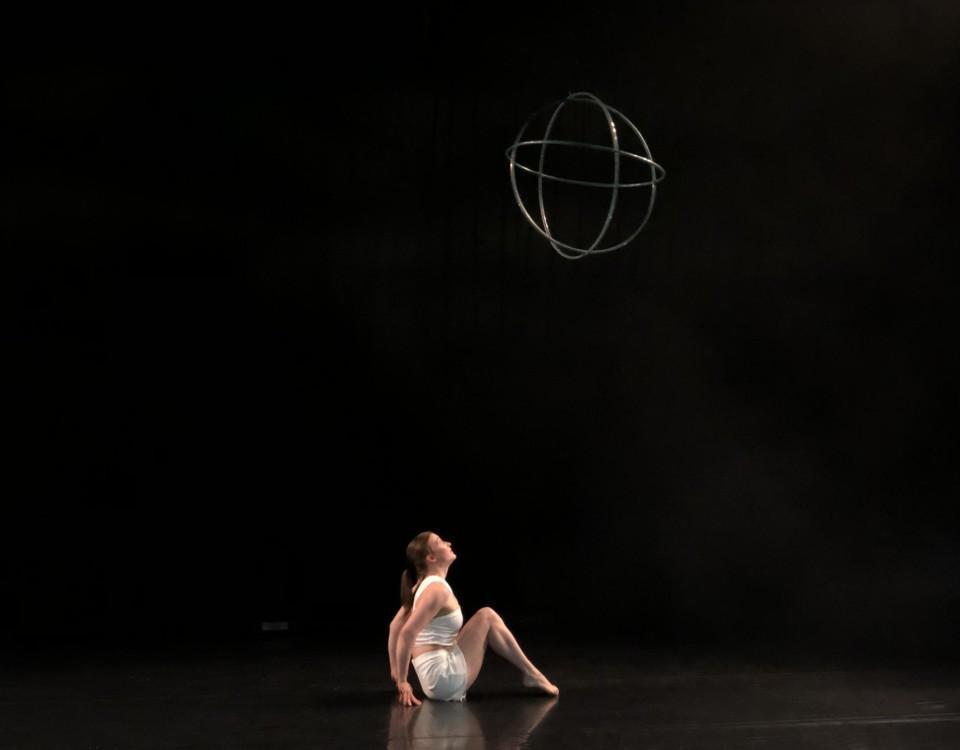 akrobat dansar med rockring