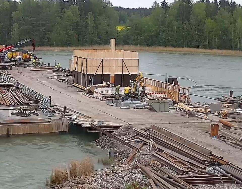 en brobyggarpetsplats