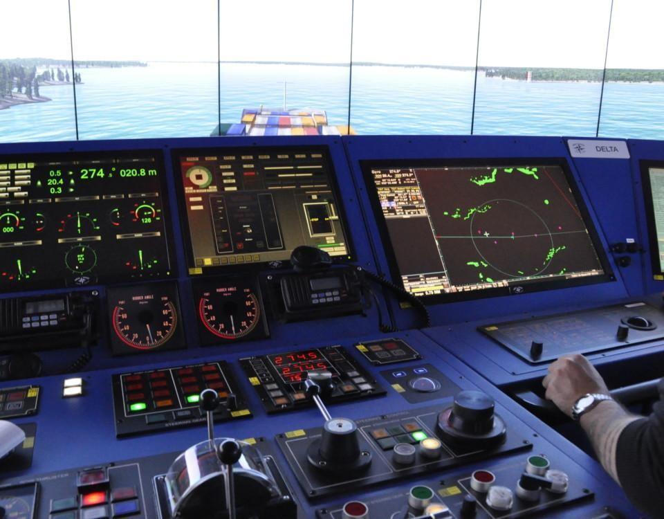 en fartygssimulator