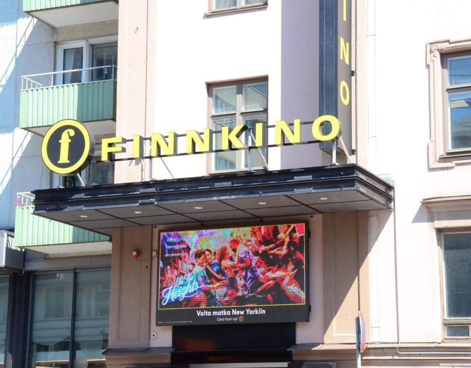 Kinopalatset i Åbos fasad.