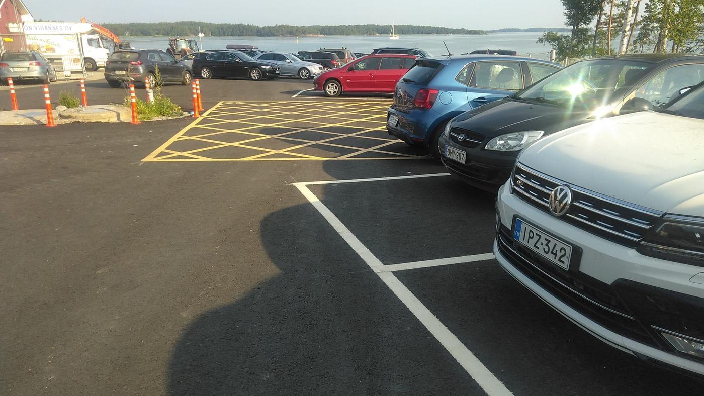 parkeringsplats & bilar