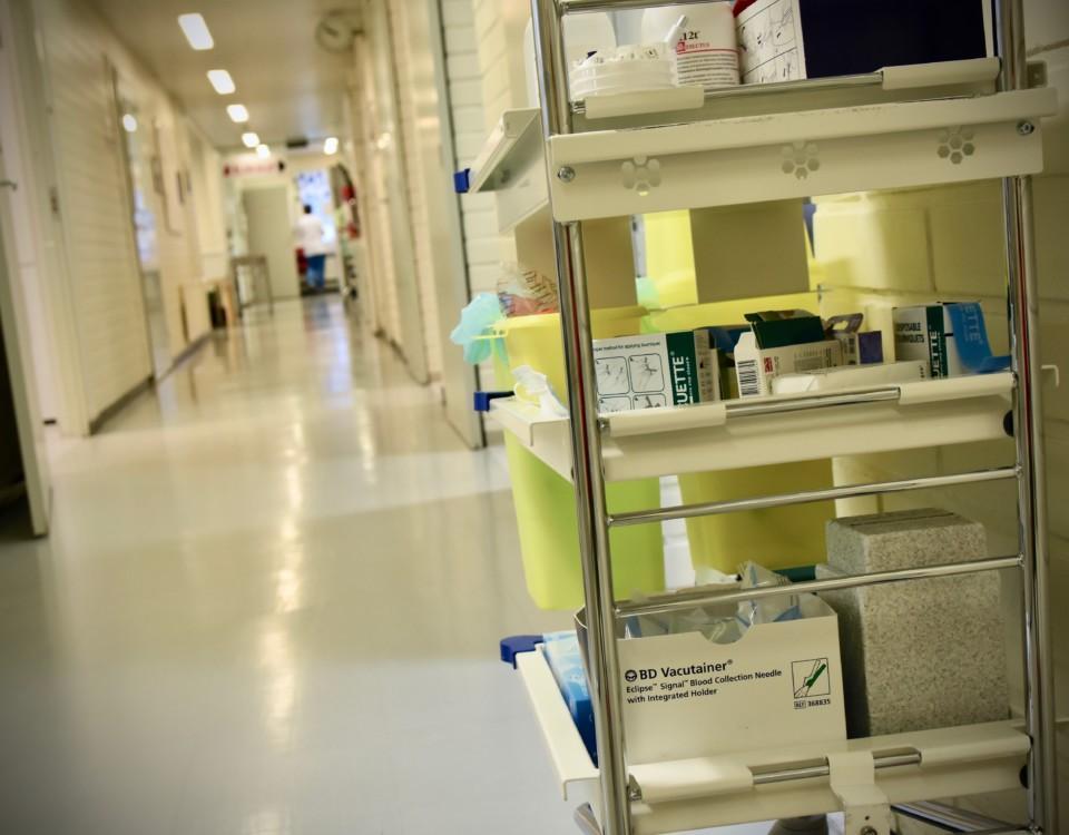 ett sjukhus