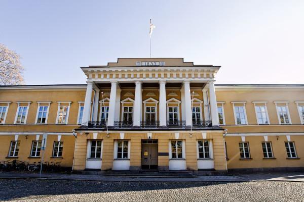 Ett palatsliknande hus