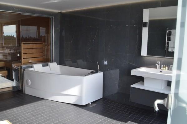 Ett badrum.