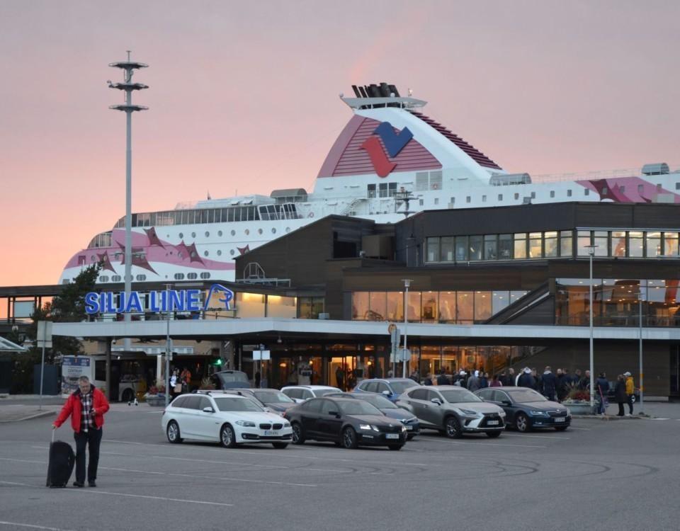 Tallink Siljas terminal i Åbo hamn