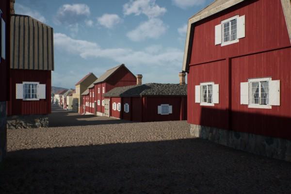 hus och gator